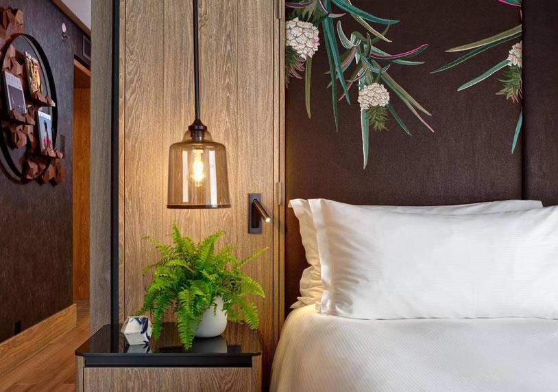 hilton hotel vegan suite