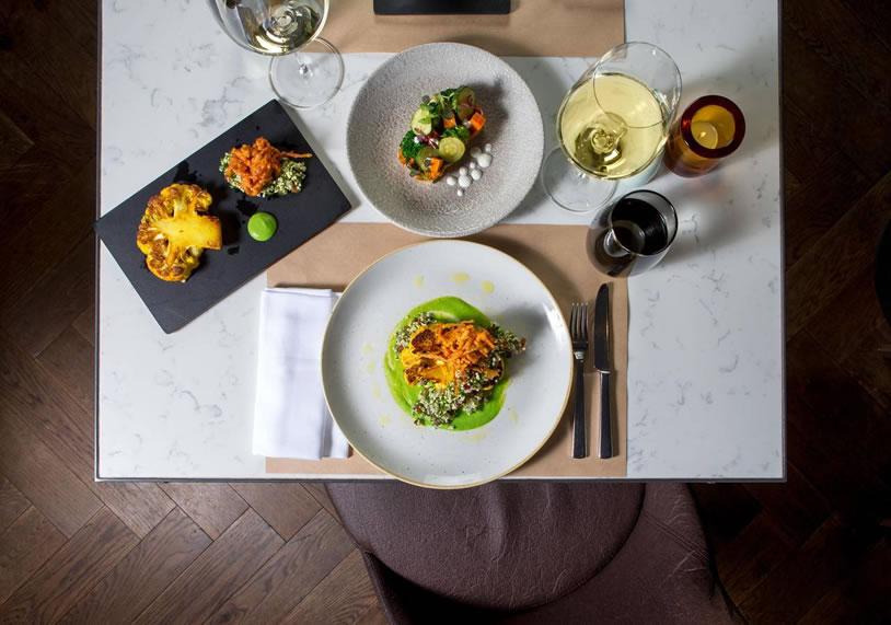 ristorante vegan hilton hotel londra