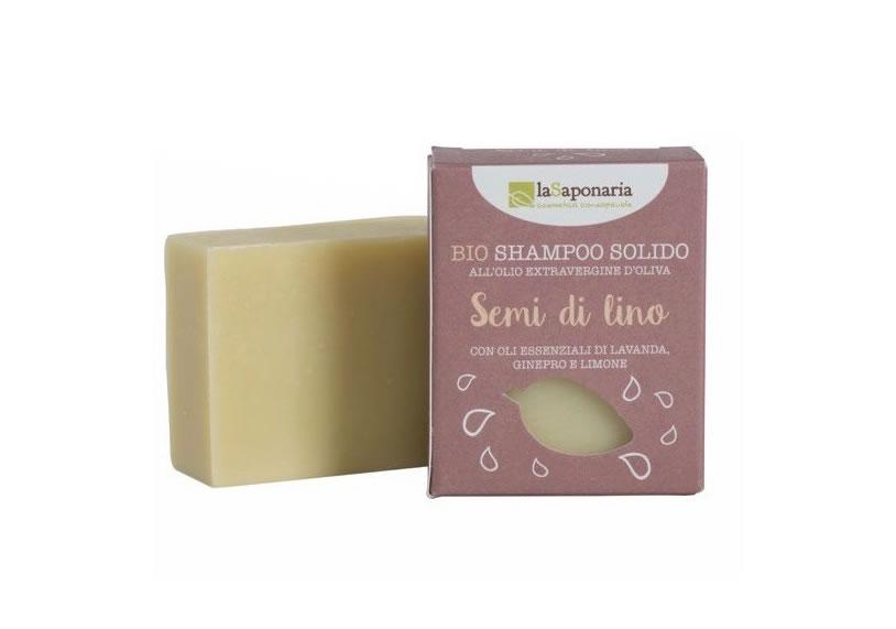 shampoo solido la saponaria
