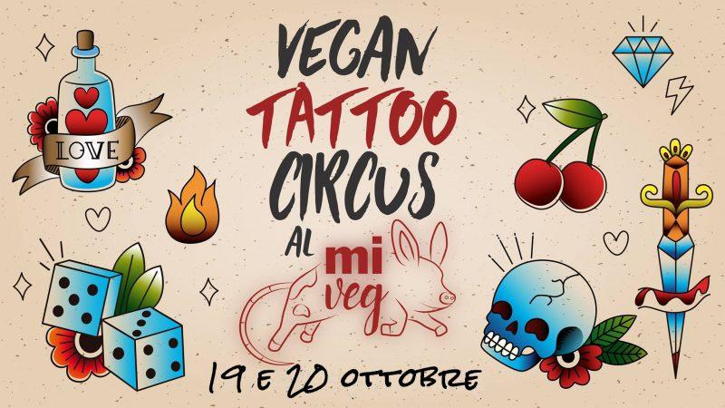 Vegan Tattoo Circus al MiVEG 2019
